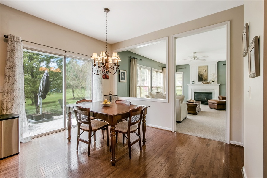 Real Estate Photography - 5 Rockwood Ct, Newark, DE, 19711 - Kitchen opens to Family Room