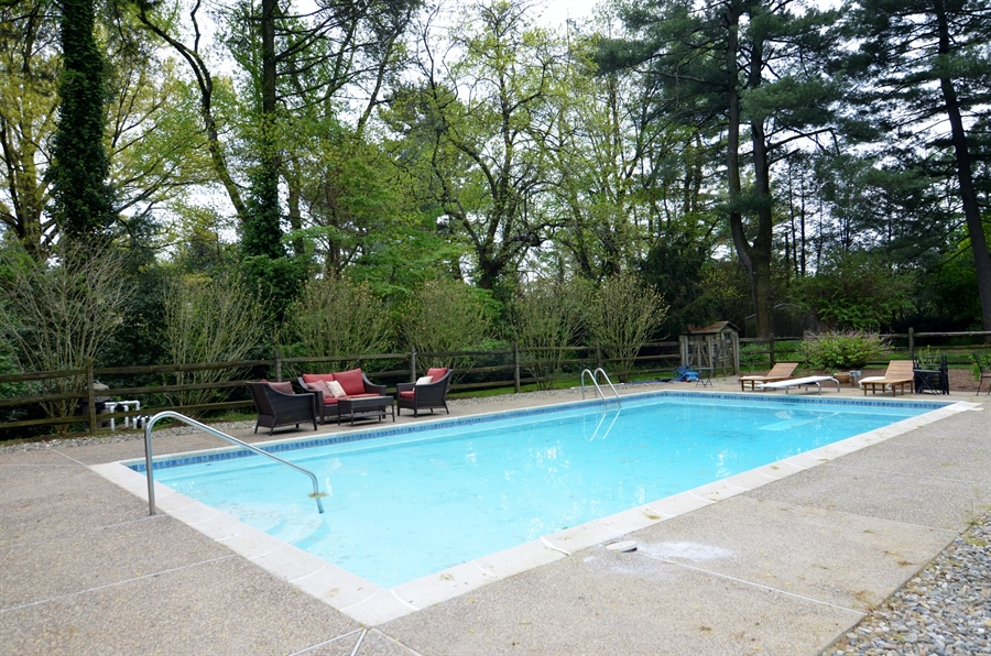 Real Estate Photography - 103 Brookmeadow Rd, Greenville, DE, 19807 - In-Ground Pool