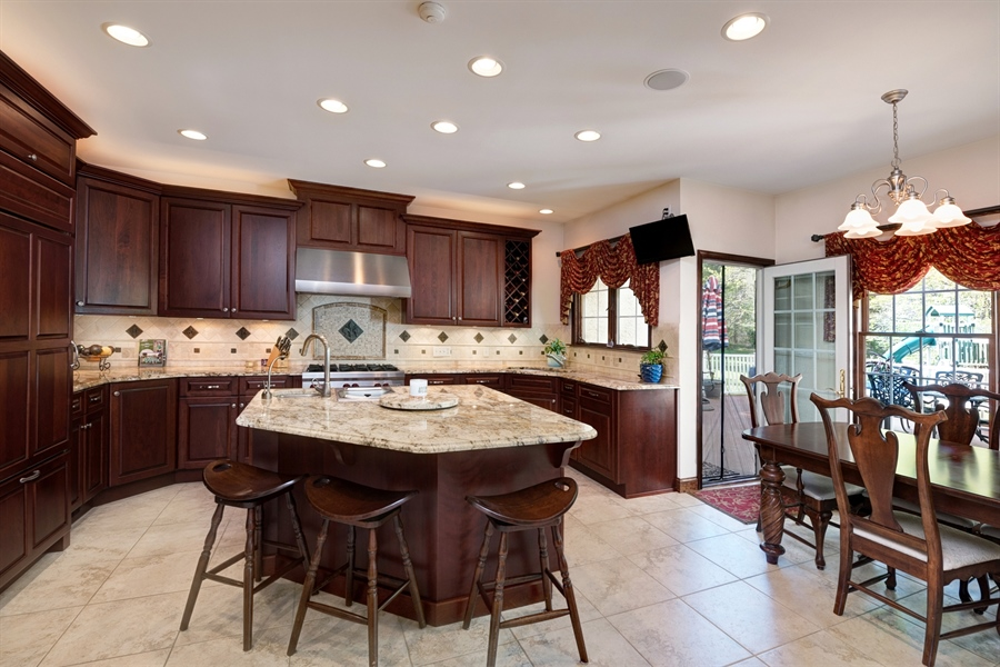 Real Estate Photography - 72 Woodholme Way, Elkton, MD, 21921 - GOURMET KITCHEN