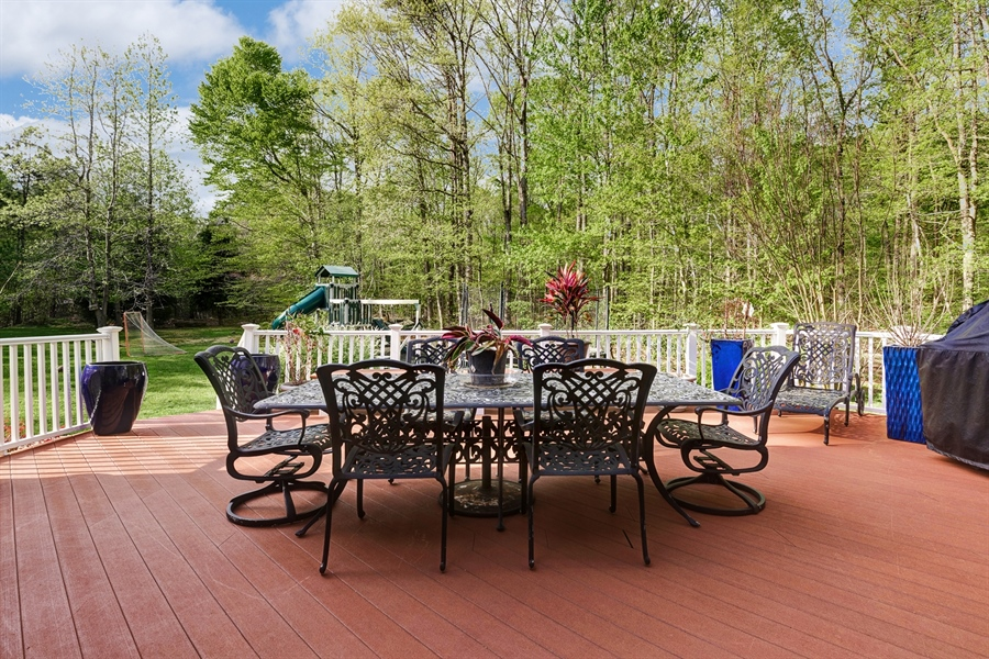 Real Estate Photography - 72 Woodholme Way, Elkton, MD, 21921 - TREMENDOUS OUTSIDE MAINTENANCE FREE DECK