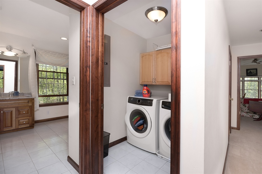 Real Estate Photography - 72 Woodholme Way, Elkton, MD, 21921 - 2ND FLOOR LAUNDRY
