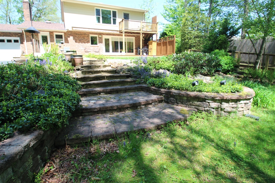 Real Estate Photography - 68 Stardust Dr, Newark, DE, 19702 - Extensive Hardscaping