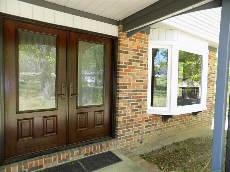 Real Estate Photography - 3 Orion Ct, Newark, DE, 19711 - New door and bay window