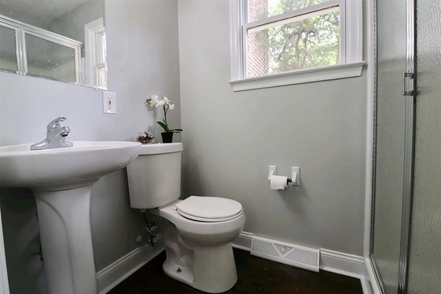Real Estate Photography - 4 Temple Ter, Wilmington, DE, 19805 - First Floor Full Bath
