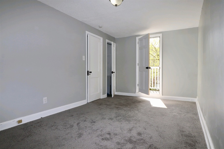 Real Estate Photography - 4 Temple Ter, Wilmington, DE, 19805 - Master Bedroom with Balcony