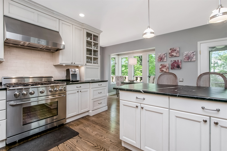 Real Estate Photography - 5 Boysenberry Dr, Hockessin, DE, 19707 - Kitchen with Soapstone Counters