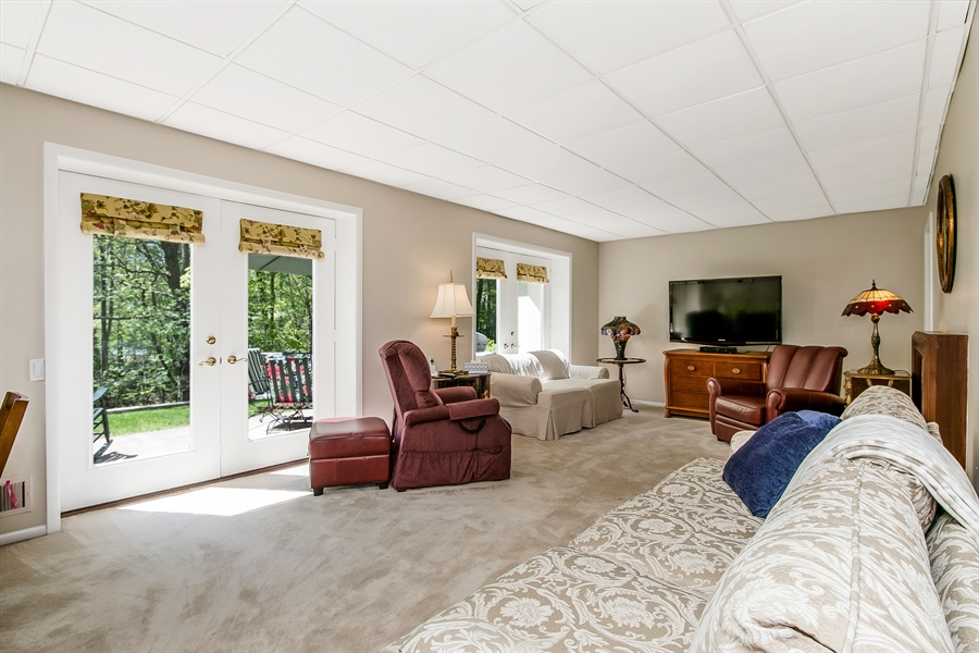 Real Estate Photography - 5 Boysenberry Dr, Hockessin, DE, 19707 - Family Room with Fireplace