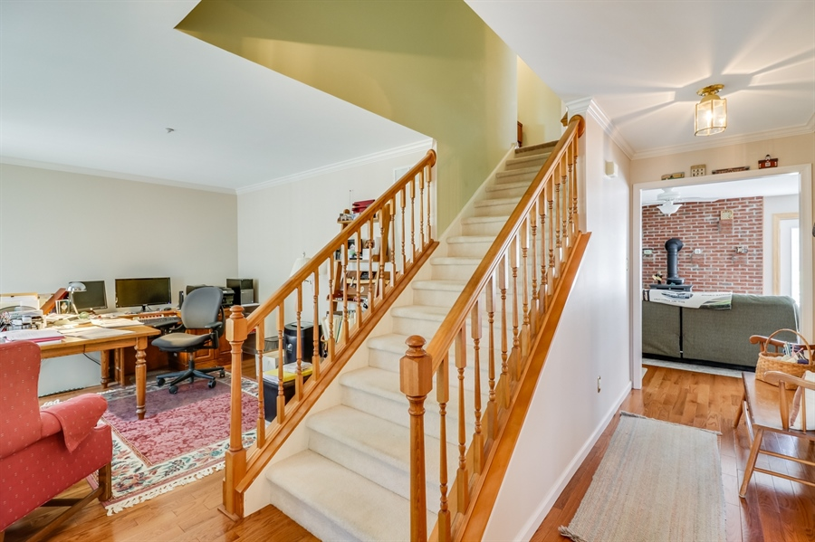 Real Estate Photography - 707 Spinnaker St, Middletown, DE, 19709 - Front Entrance Stairway