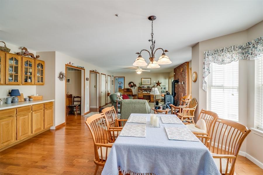 Real Estate Photography - 707 Spinnaker St, Middletown, DE, 19709 - Kitchen Nook