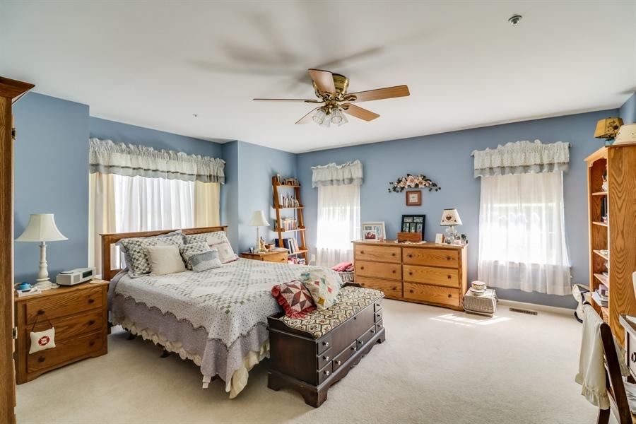 Real Estate Photography - 707 Spinnaker St, Middletown, DE, 19709 - Master 1st Floor Bedroom
