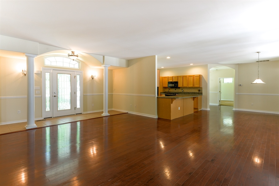Real Estate Photography - 20835 Bull Pine Rd, Georgetown, DE, 19947 - Living / Dining Areas