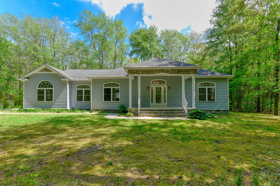 Real Estate Photography - 20835 Bull Pine Rd, Georgetown, DE, 19947 - Front View