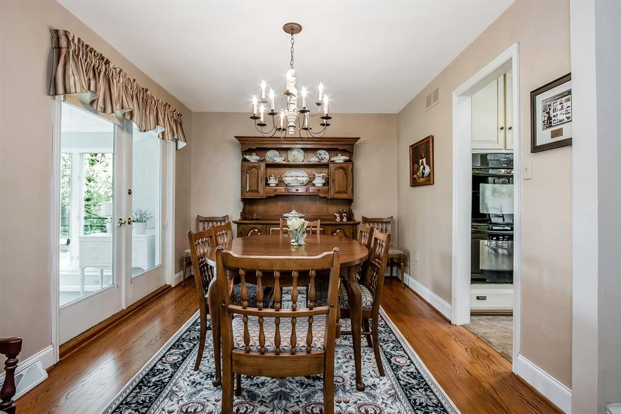 Real Estate Photography - 220 Stonecrop Rd, Wilmington, DE, 19810 - Distinctive Dining Room
