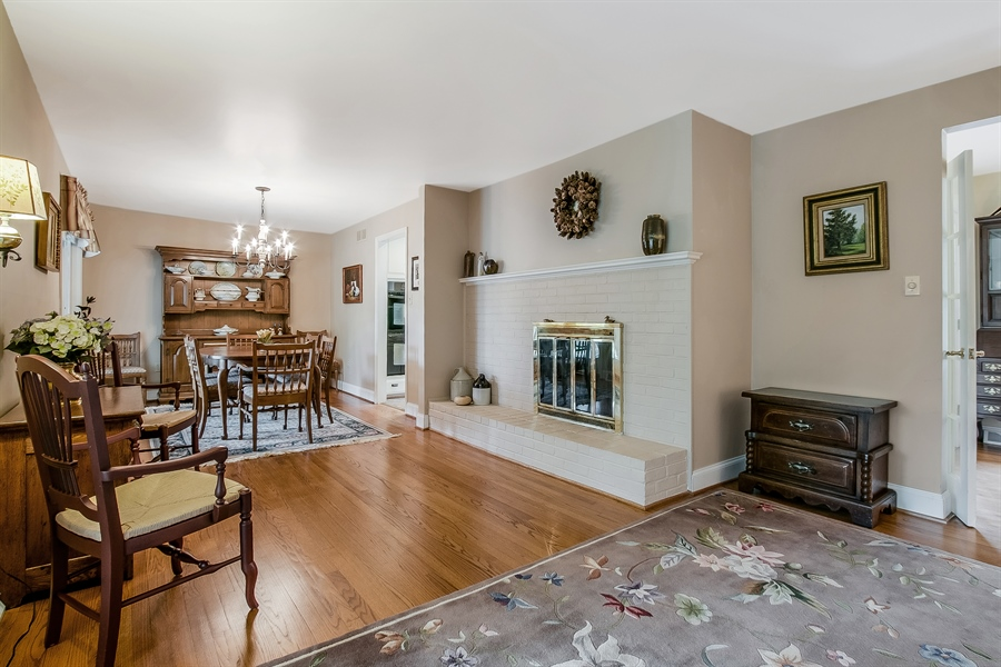 Real Estate Photography - 220 Stonecrop Rd, Wilmington, DE, 19810 - Another View Of The Dining And Living Rooms