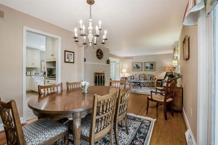 Real Estate Photography - 220 Stonecrop Rd, Wilmington, DE, 19810 - Dining Room Looking Toward Living Room