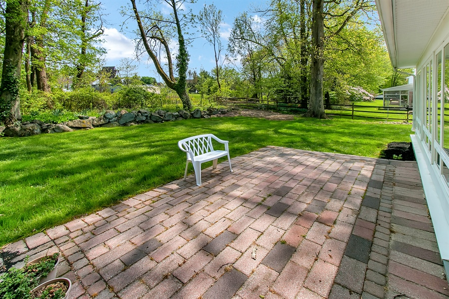 Real Estate Photography - 220 Stonecrop Rd, Wilmington, DE, 19810 - Another Look At The Patio