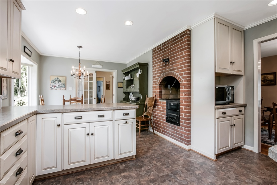 Real Estate Photography - 220 Stonecrop Rd, Wilmington, DE, 19810 - Yet Another View Of The Gourmet Kitchen!