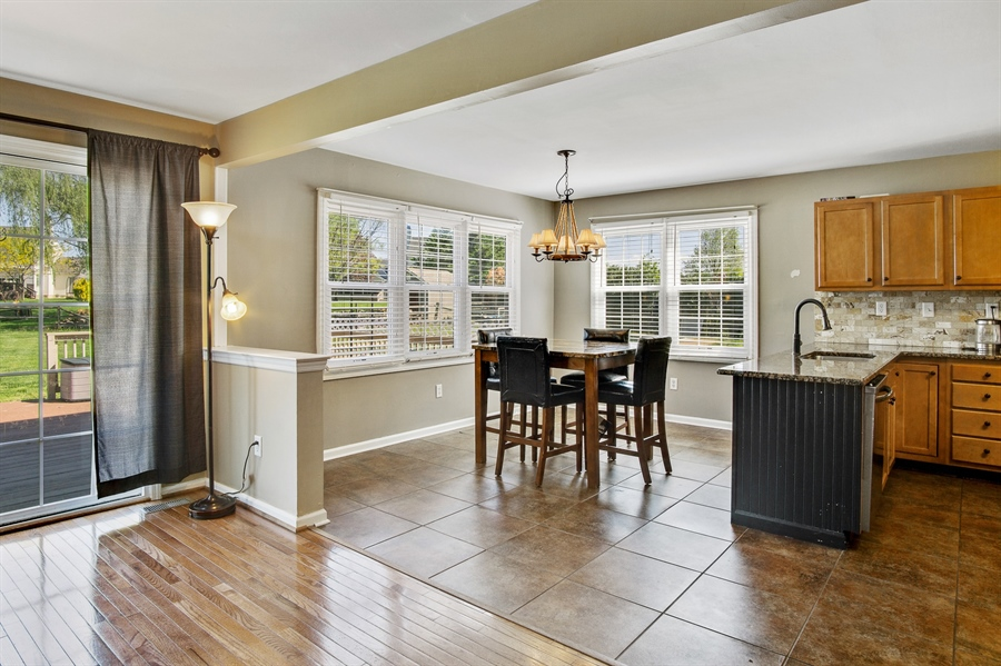 Real Estate Photography - 104 Yorkshire Ct, Middletown, DE, 19709 - Large breakfast room