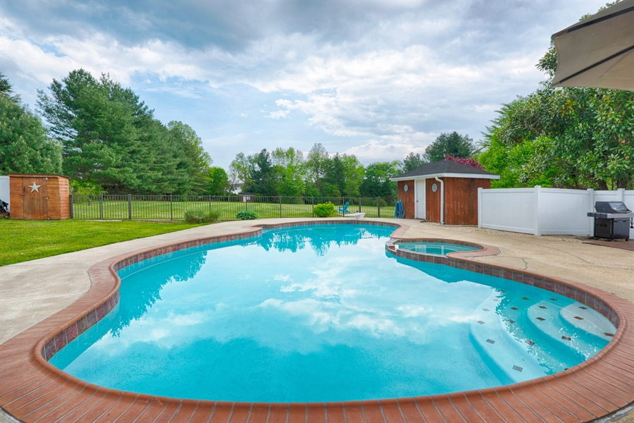 Real Estate Photography - 40 Middlecroft Rd, Elkton, MD, 21921 - HEATED POOL, OWNED PROPANE TANK