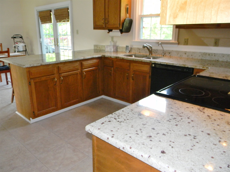 Real Estate Photography - 190 Kirkcaldy Dr, Elkton, MD, 21921 - Granite Counters