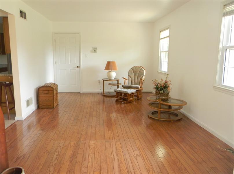 Real Estate Photography - 190 Kirkcaldy Dr, Elkton, MD, 21921 - Living Room hardwood floor