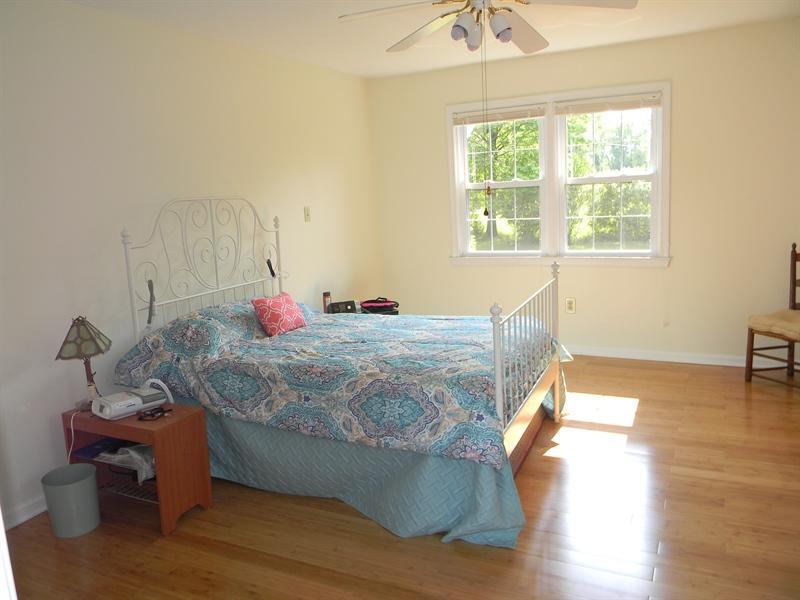 Real Estate Photography - 190 Kirkcaldy Dr, Elkton, MD, 21921 - 1st Floor Master Bedroom, bamboo floors