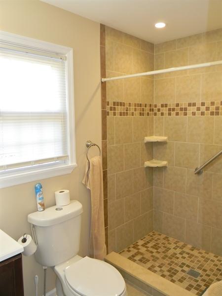 Real Estate Photography - 190 Kirkcaldy Dr, Elkton, MD, 21921 - Ceramic Tile Master Bath