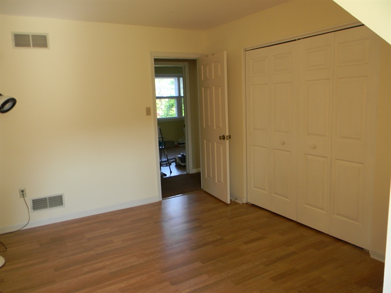 Real Estate Photography - 190 Kirkcaldy Dr, Elkton, MD, 21921 - 2nd floor Bedroom 4, entrance to walk-in attic