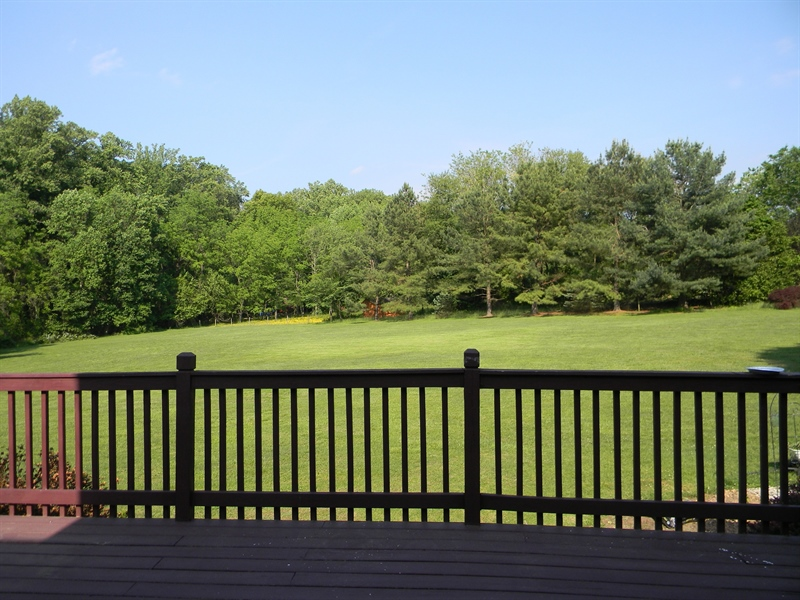 Real Estate Photography - 190 Kirkcaldy Dr, Elkton, MD, 21921 - View from deck, horses allowed