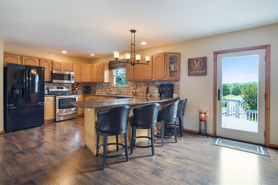 Real Estate Photography - 1436 Oldfield Point Rd, Elkton, MD, 21921 - Updated kitchen