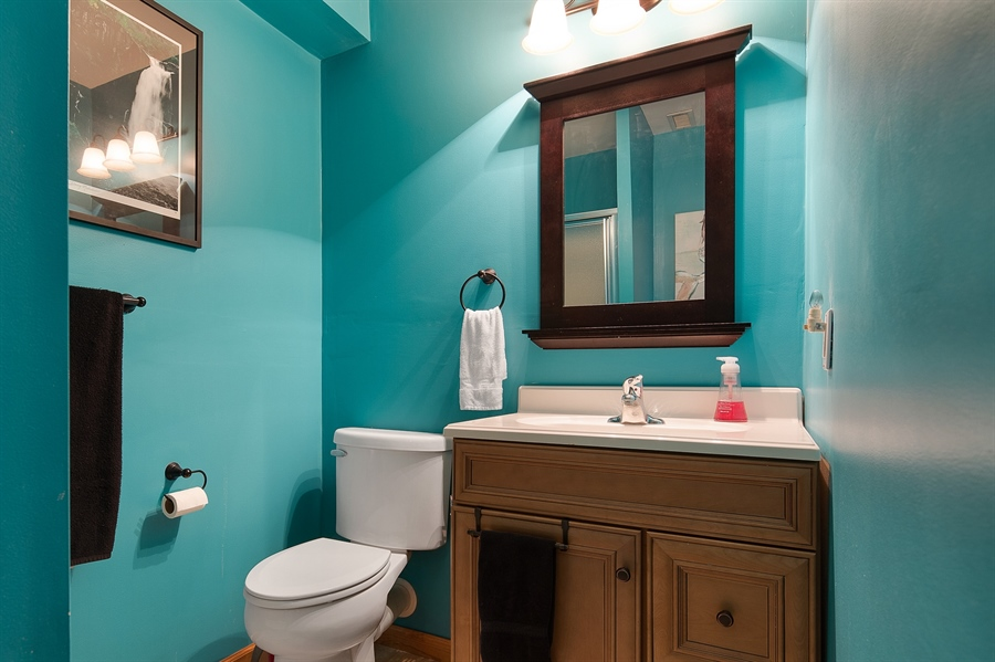 Real Estate Photography - 1436 Oldfield Point Rd, Elkton, MD, 21921 - Full bath on lower level