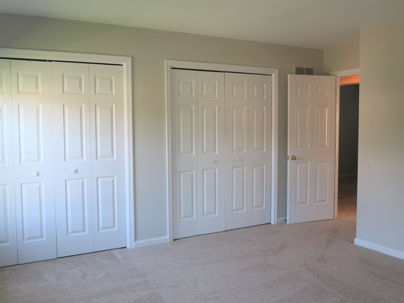 Real Estate Photography - 121 Brandywine Dr, Dover, DE, 19904 - Second bedroom has double closets