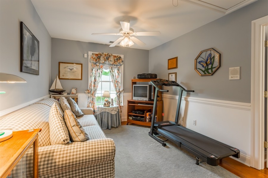 Real Estate Photography - 2 Plantation Ct, Ocean View, DE, 19970 - DEN/WORK OUT ROOM OR 5TH BEDROOM ON 2ND FLOOR