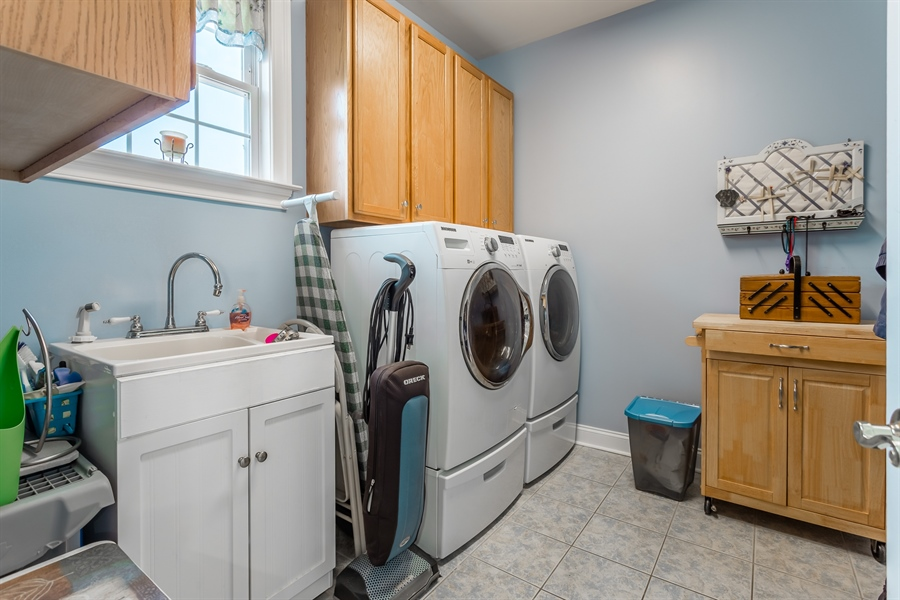Real Estate Photography - 2 Plantation Ct, Ocean View, DE, 19970 - FIRST FLOOR UTILITY ROOM