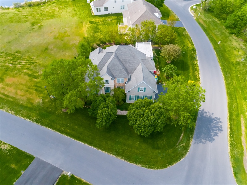 Real Estate Photography - 2 Plantation Ct, Ocean View, DE, 19970 - AERIAL VIEW