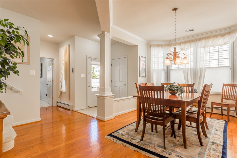Real Estate Photography - 101 Emilys Pintail Dr, Bridgeville, DE, 19933 - DINING ROOM AND FOYER