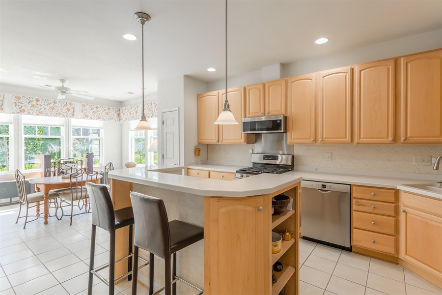 Real Estate Photography - 101 Emilys Pintail Dr, Bridgeville, DE, 19933 - KITCHEN WITH NEW STAINLESS STEEL APPLIANCES
