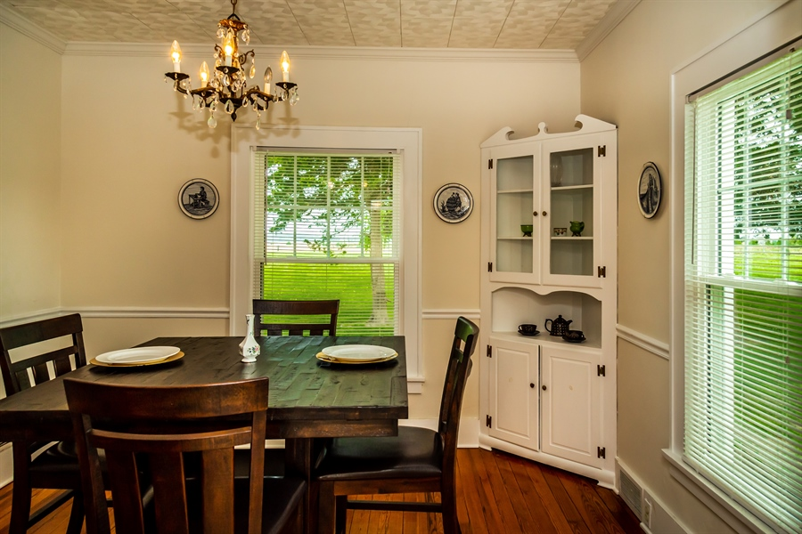 Real Estate Photography - 955 Vance Neck Rd, Middletown, DE, 19709 - Dining Room