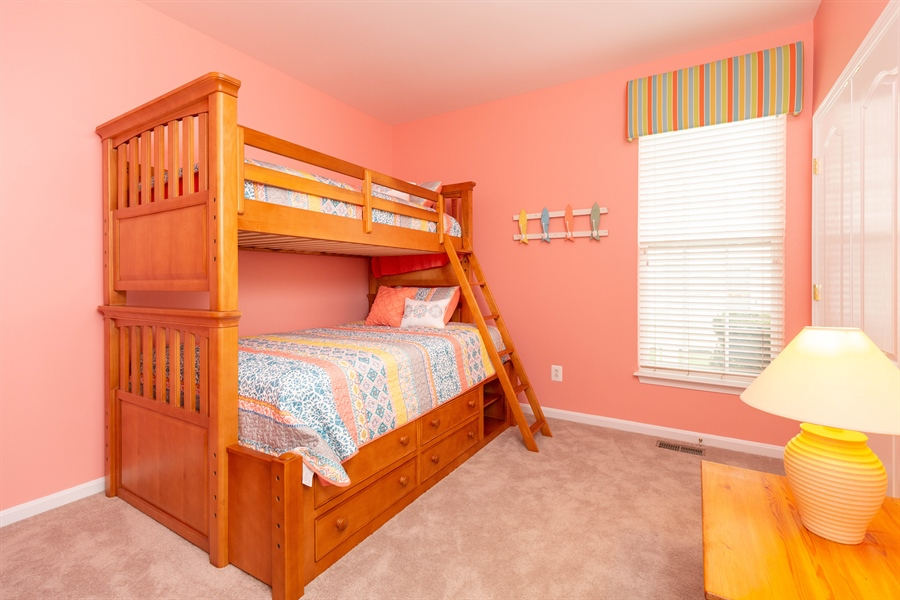 Real Estate Photography - 14 Wauwinet Ct, Rehoboth Beach, DE, 19971 - 3rd Guest Bedroom