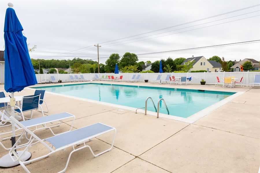 Real Estate Photography - 14 Wauwinet Ct, Rehoboth Beach, DE, 19971 - Community Pool