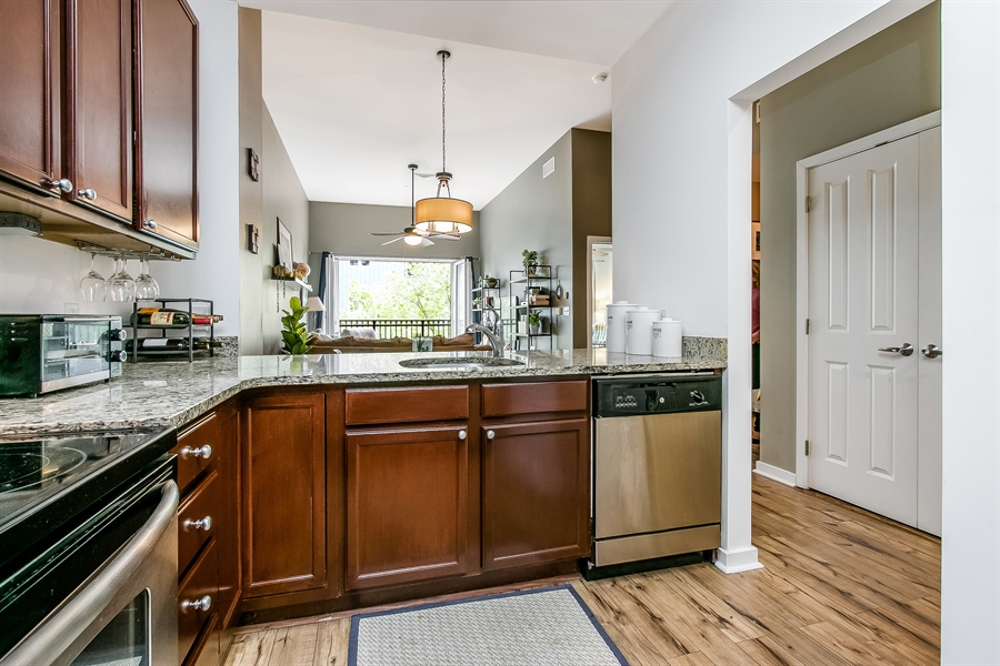 Real Estate Photography - 530 Harlan Boulevard #314, 314, Wilmington, DE, 19801 - Kitchen with Stainless Appliances