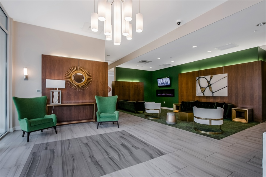Real Estate Photography - 530 Harlan Boulevard #314, 314, Wilmington, DE, 19801 - Newly Renovated Lobby