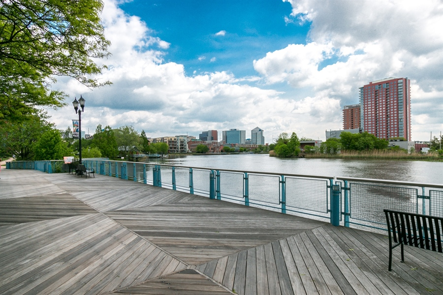 Real Estate Photography - 530 Harlan Boulevard #314, 314, Wilmington, DE, 19801 - Riverfront Walk is Steps Away