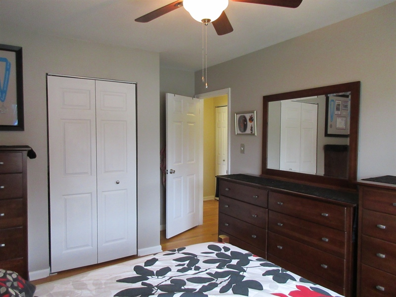 Real Estate Photography - 13 Cook Rd, Newark, DE, 19711 - Master Bedroom Exit to Hallway