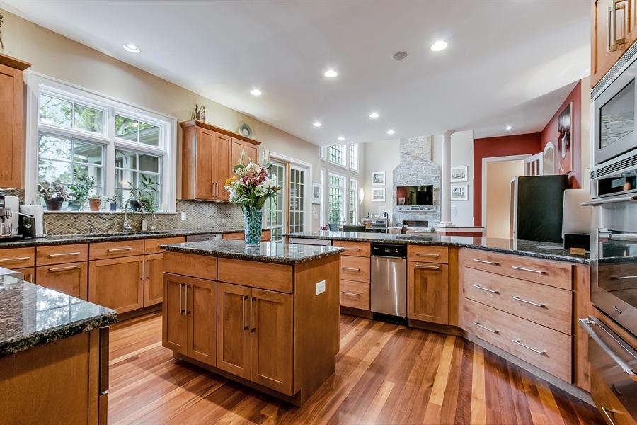 Real Estate Photography - 100 Wayland Rd, Greenville, DE, 19807 - Gourmet Kitchen