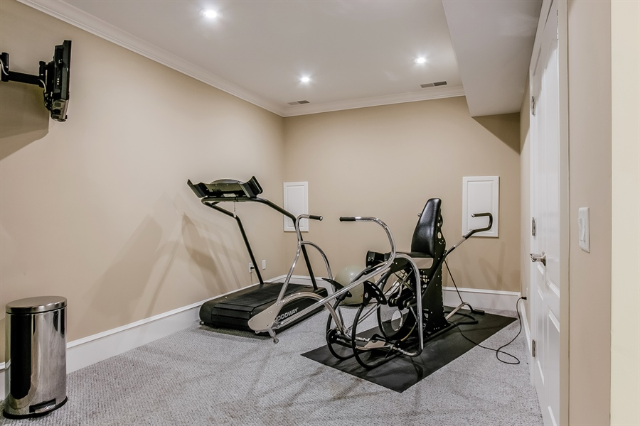 Real Estate Photography - 100 Wayland Rd, Greenville, DE, 19807 - Exercise Room