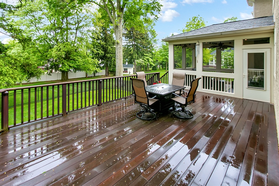 Real Estate Photography - 100 Wayland Rd, Greenville, DE, 19807 - Screened Porch with Heater
