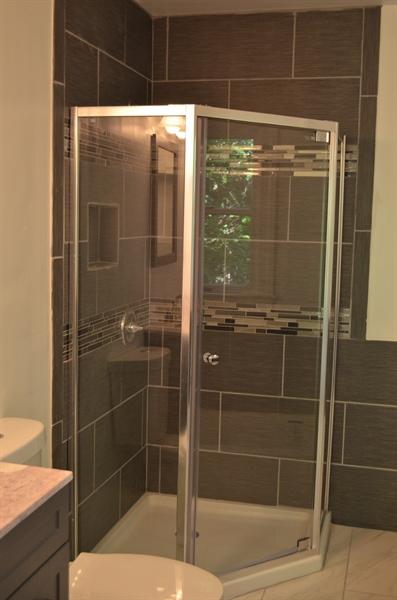 Real Estate Photography - 9 Brookland Ave, Wilmington, DE, 19805 - Master bath with shower enclosure plus tub!