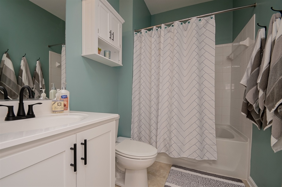 Real Estate Photography - 29717 Riverstone Drive, Milton, DE, 19968 - Hall Bath on First Level