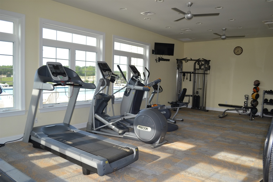 Real Estate Photography - 29717 Riverstone Drive, Milton, DE, 19968 - Fitness Room